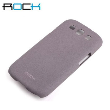 Rock Ultra Thin Quicksand Hard Faceplate - Samsung Galaxy S3 - Purple