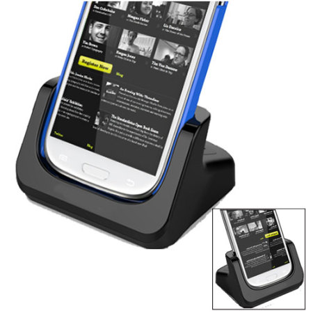 Samsung Galaxy S4 / S3 Case Compatible Charging Dock