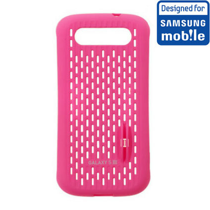 Official Samsung Galaxy S3 Mesh Vent Case - Pink