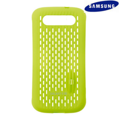 Genuine Samsung Galaxy S3 Mesh Vent Case - Green