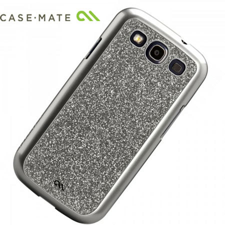 Case-Mate Glam Case for Samsung Galaxy S3 - Silver
