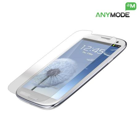 Anymode Samsung Galaxy S3 Oleophobic Screen Protector