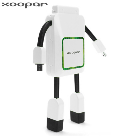 Xoopar Robo Power Bank 2000mA External Battery - White