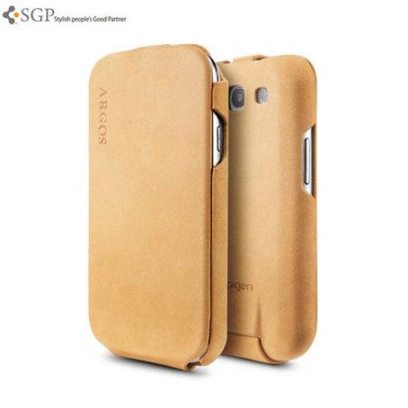 buy online aaf16 b5ffe SGP Samsung Galaxy S3 Argos Case - Brown