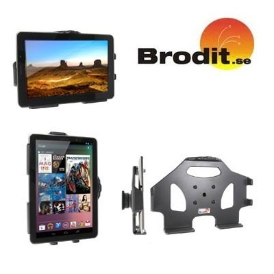 Support Brodit Passive Google Nexus 7 avec Pivot Inclinable