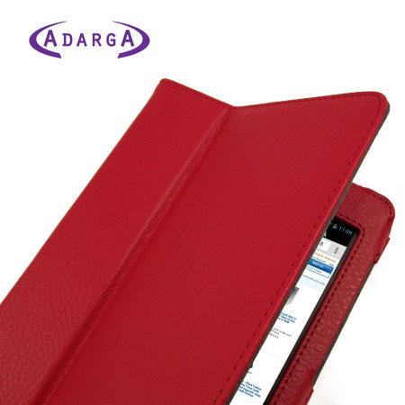 Adarga Stand and Type Case for Google Nexus 7 - Red