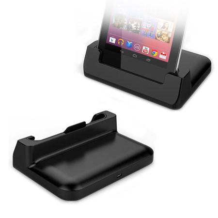Google Nexus 7 Case-Compatible Desktop Sync and Charge Cradle