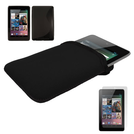 Dual Case Pack For Google Nexus 7