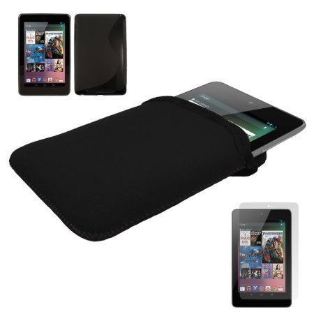 Pack double protection Google Nexus 7