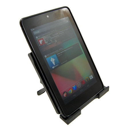 Flexishield Wave Case With Desk Stand For Google Nexus 7 - Black