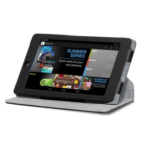 Hipstreet Google Nexus 7 Rotating Stand Case - HS-ANX7RTCS-BK