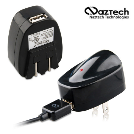 Naztech Universal 2100mAh Rapid USB Travel Charger (US)