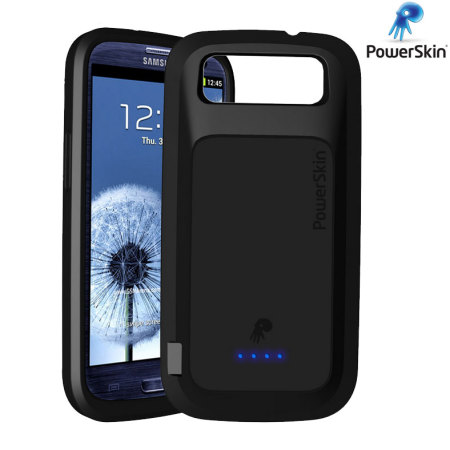 best service 512f8 7220f PowerSkin Extended Samsung Galaxy S3 Battery Case