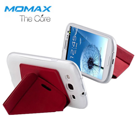 Momax The Core Smart Case for Samsung Galaxy S3 - Red