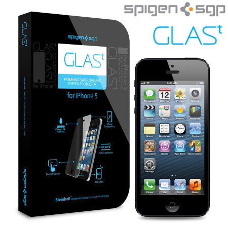 SGP iPhone 5S / 5 Glas.t Premium Tempered Screen Protector