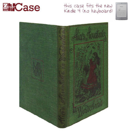 KleverCase Book Cover Case for Amazon Kindle - Alice in Wonderland