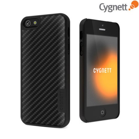 Cygnett UrbanShield Carbon for iPhone 5S / 5 - Carbon