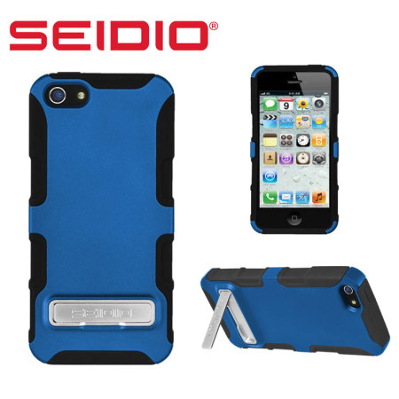 Seidio Dilex Case for iPhone 5S / 5 with Kickstand - Blue