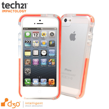 cheap for discount 10de0 143ac Tech21 D3O Impact Band for iPhone 5S / 5 - Clear