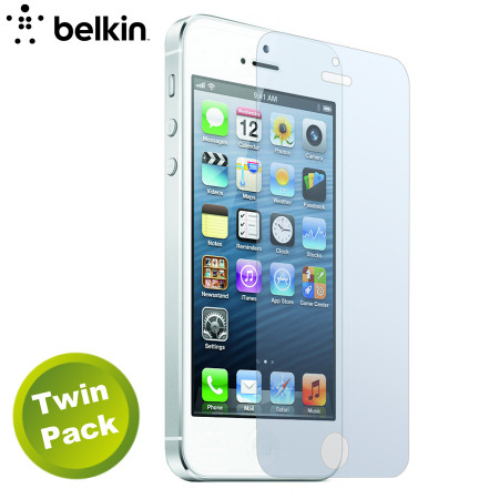 Belkin Anti-Smudge Screen Protector for iPhone 5S / 5 (2 Pack)