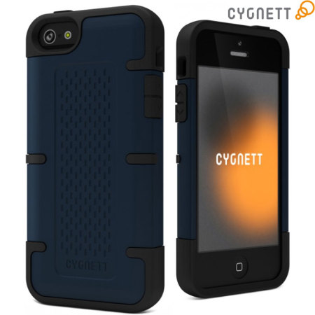 Cygnett WorkMate Pro Case for iPhone 5S / 5 - Black/Blue