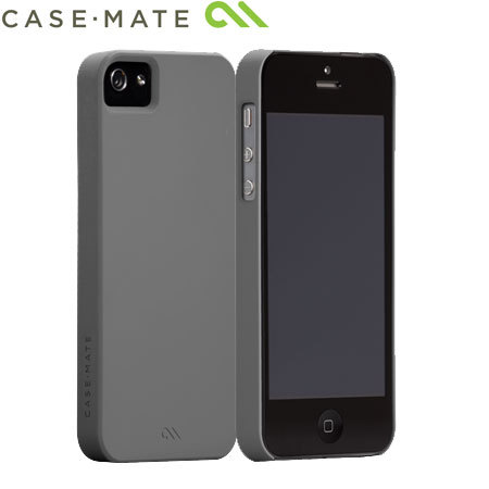 new concept fc097 6b8ca Case-Mate Barely There 2.0 for iPhone 5S / 5 - Grey