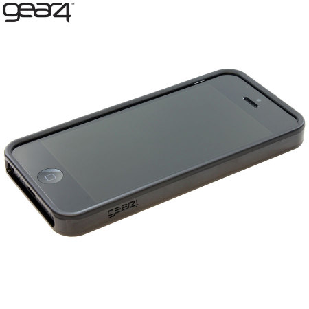promo code 2fcdc 2afb8 Gear4 G4IC506G iPhone 5S / 5 Rubber Bumper Case - Black