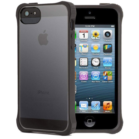 timeless design 73eda b6da0 Griffin Survivor Core Case For iPhone 5S / 5 - Black / Clear