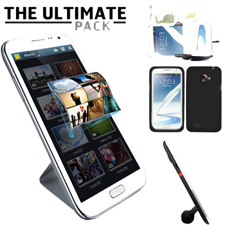 Pack accessoires Samsung Galaxy Note 2 Ultimate - Noir