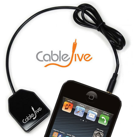 DockBoss CableJive de iPhone 5S / 5 para dispositivos Apple de 30 Pin