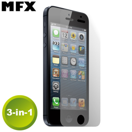 Pack de 3 Protections d'écran iPhone 5 Privacy MFX