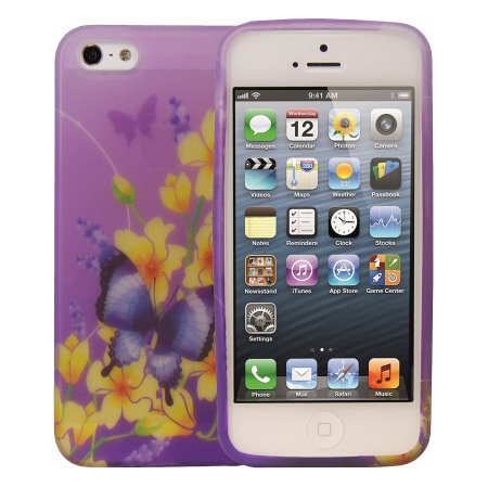 carcasa iphone 5s mariposa