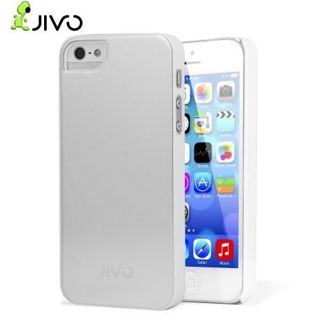 """Jivo iPhone 5 """"Alu-Case"""" One-Piece Snap-On iPhone Case - Silver"""