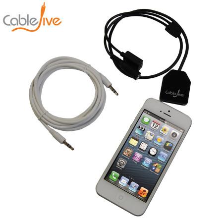 CableJive dockBoss+ Lightning Audio Kit for Apple 30 Pin Docks