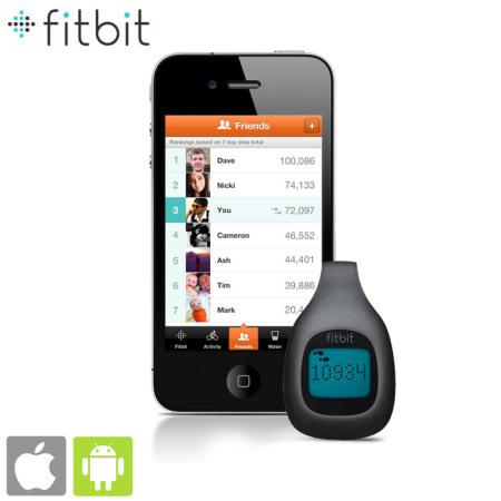 Tracker Fitbit sans fil Fitness de poche - Charbon