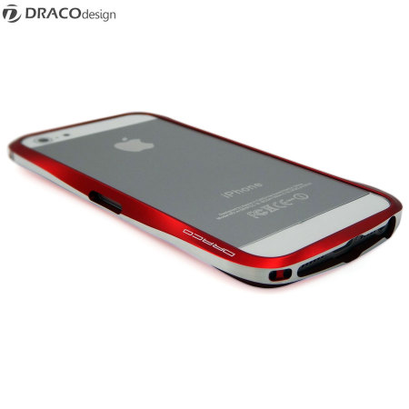 Draco Design Aluminium Bumper for the iPhone 5S / 5 - Red