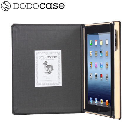 DODOcase Classic Case for iPad 4 / 3 - Charcoal