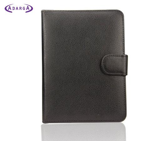 Housse effet cuir amazon kindle paperwhite adarga noire for Housse kindle paperwhite