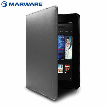 Marware EcoVue Leather Kindle Fire HD 2012 Case - Charcoal