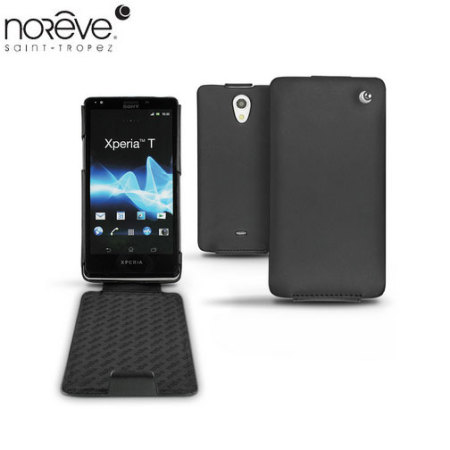 Noreve Tradition A Leather Case for Sony Xperia T - Black