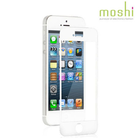 iphone 5s screens moshi ivisor xt screen protector for iphone 5s 5 white 11246