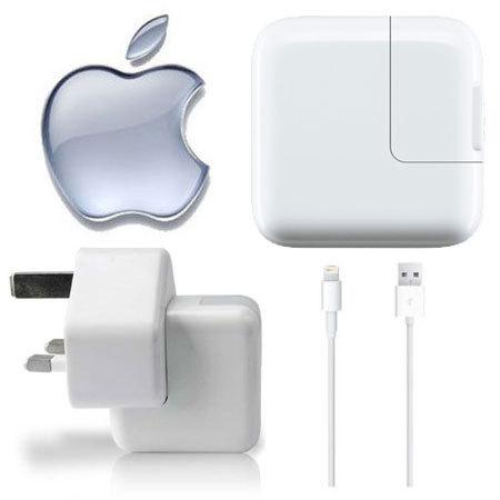 Genuine Apple Lightning Mains Charger - iPad Air 2 / Mini 3 / iPad 4