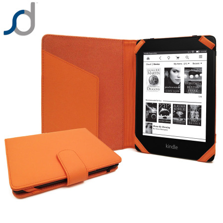 Funda tipo piel sd tabletwear para kindle paperwhite naranja - Kindle funda ...