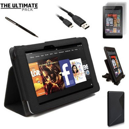 The Ultimate Kindle Fire HD 2012 Accessory Pack