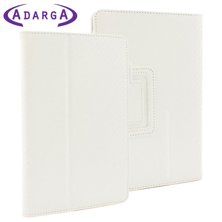 Adarga Stand and Type Kindle Fire Case - Carbon White