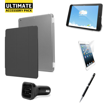 The Ultimate iPad Mini 3 / 2 / 1 Accessory Pack - Black