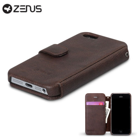 Zenus Masstige Colour Point Case for iPhone 5S / 5 - Black Chocolate