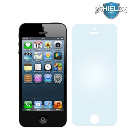 Protection d'écran iPhone 5 iShieldz Military Graded