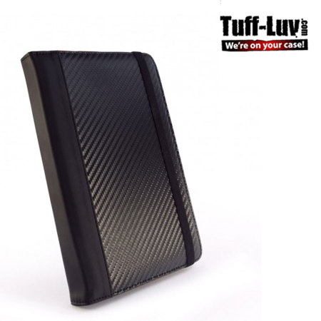 Tuff-Luv Slim-Stand Case for Kindle Fire HD 2012 - Carbon