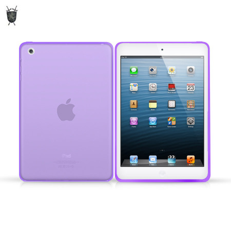 FlexiShield Skin for iPad Mini 2 / iPad Mini - Purple